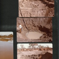 Washout main road, Goodooga (NSW), 1983