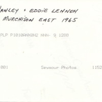 JIM HANLEY + EDDIE LENNON | 25 LB MURCHISON EAST 1965.