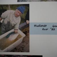 Fieldwork at Medlands, Goulburn River (VIC), 1986.