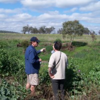 Noal Kuhl (left) and Hamish Sewell, Upper Condamine, 2010