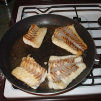 Cooking Callop fillets [no date]