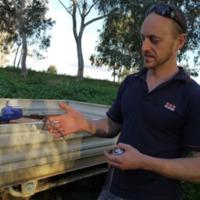 Talking Fish project team member, Namoi River (NSW), 2010