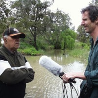 (L to R) Sam Bonner and Hamish Sewell, Condamine (QLD), 21 September 2010.