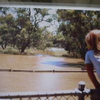 Floodwaters, Murray River, circa 1975