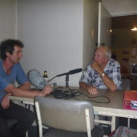 (L to R) Hamish Sewell and Douglas MacGregor, oral history interview, 2010