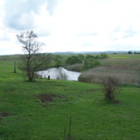 Denuded banks along the Condamine River, 2010