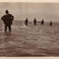 Fishing, Coorong and Lower Lakes, circa 1930
