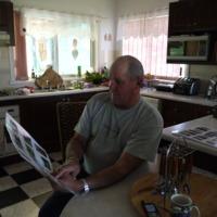Portrait of Don Spider Cunningham, Narrabri (NSW), 7 September 2010.