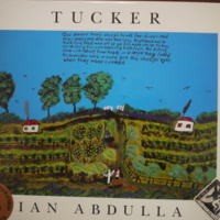 Cover of book called Tucker, by Ian Abdulla (1947-2011), published 1994