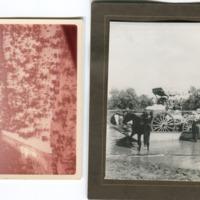 (L to R) Springvale flood, Queensland, 1964; Paroo punt prior to 1928