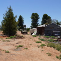 Sheds, Grace property, Great Anabranch, 2010