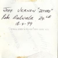 JEFF VERNON JETHRO | Lake Mulwala 24LB | 18-4-99