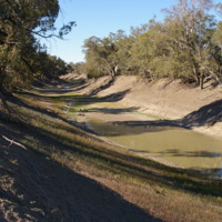 Drought near Wilcannia (NSW), August 2007