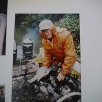 Fieldwork at Lake Dartmouth (VIC), November, 1986.