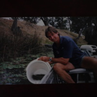 Sampling water, Corowa Anglers Club, [no date]