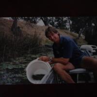Sampling water, Corowa Anglers Club, [no date]