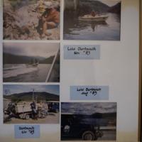 Fieldwork at Lake Dartmouth (VIC): (top) November, 1983; (middle) August, 1983; (bottom) November, 1985.