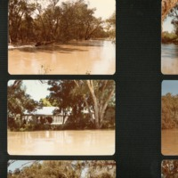 Culgoa River floods in winter (NSW), 1983