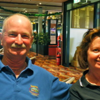 (L to R) Mick and Barb Davis, 2010