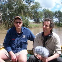 Portrait of Noal Kuhl (left) and Hamish Sewell, Upper Condamine, 2010