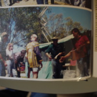 Photograph taken at a fishing competition organisation by the Narrabri Amateur Fishing Club, c. 1996.