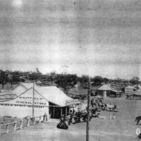 H.Hatfield general store, 1920s.