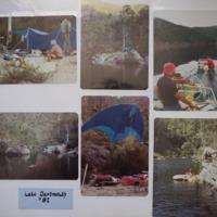 Fieldwork campsite at Lake Dartmouth (VIC), 1982.