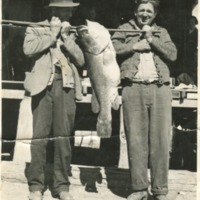 (L to R) Henry Gaske, Harry Hieken, circa 1940