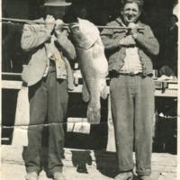 (L to R) Henry Gaske, Harry Hieken, circa 1940