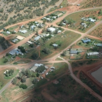 An aerial view of the flood waters in the Upper Darling region, [n.d]