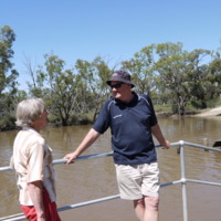 On the Loddon River with the Kerang Crew, 2010