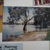 Fieldwork at Lake Meering, Lake Meran (VIC). October, 1981.