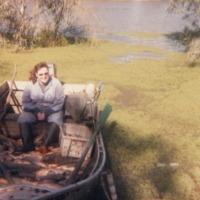 Aston family, Murray River, 1982