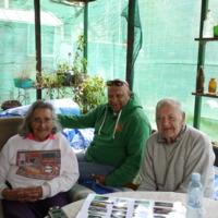 Pearl Trindall, Phil Duncan and Joe Trindall, Attunga (NSW), 6 September 2010.