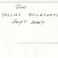 Jim | Yellas Nillacoote | Sept 2007