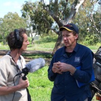 Noal Kuhl (right) and Hamish Sewell, Upper Condamine, 2010