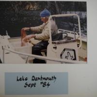 Fieldwork at Lake Dartmouth (VIC), September, 1984.