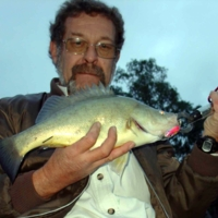 Barry Porter with Callop, (Stump J3) Katarapko, 2005-07-07