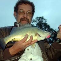 Barry Porter with Callop, (Stump J3) Katarapko, 2005-07-07