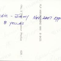 Archie - Jimmy Nov 2007 Eppalock 8 yellas